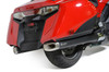 Slip-On System w/ Electro-Black Stainless Muffler Gold Wing (13-16)