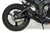 Single Alien Head Slip-On (3/4 System) Black ZX-10R (16-18)