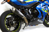 Predator Full System - Ti Front Section w/ Electro-Black Muffler GSX-R1000 and GSX-R1000R (17-18)