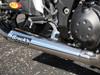 """TiWinder Polished Full System w/ 18"""" Muffler Street Baffle ZX-14 (06-18)"""