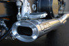 "TiWinder Polished Full System w/ 18"" Muffler Street Baffle Hayabusa (99-17)"