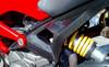 Carbon Fiber Rear Frame Kit Monster models 696/796/1100/1100S/EVO