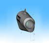 "CT Single Full System w/ 16"" QuietKore Muffler ZX-14 (06-18)"