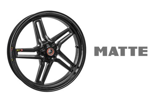 BST Rapid TEK Front Wheel 5 Split Spoke 3.5 x 17 MATTE for Ducati 899/959/821/ 1199 w/ ABS / 1299 / V4 / 1299S / 1299R / FE 15-16