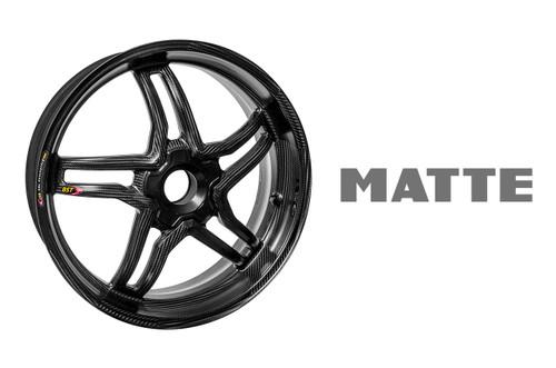 BST Rapid TEK Rear Wheel 5 Split Spoke 6.0 x 17 MATTE for Ducati 1098 / 1198 / 848 / S-Fighter / 1199 / 1299 /1299Rfe / V4/SuperSport 939