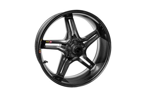 BST Rapid TEK Rear Wheel 5 Split Spoke 6.0 x 17 for Suzuki Hayabusa (13-17)