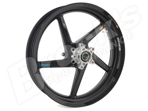 BST R+ Series Front Wheel 3.5 x 17 for Suzuki GSX-R1000 (09-18) / GSX-R750/600 (08-10)