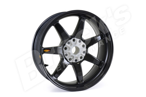 BST Rear Wheel 6.0 x 17 for BMW K1200S/R, K1300S/R (Up to 2016), R1200S/R RS and RS LC (w/o ABS)(Up to 2013), HP2 Sport and HP2 MegaMoto (08-09), R9T