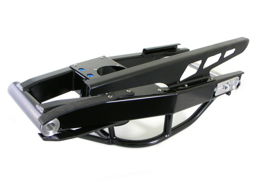 """Alumi-Pro Swingarm 2""""-8"""" Over (Black) w/ 6"""" Slot and NOS Tray for GSX-R1000 (07-08)"""