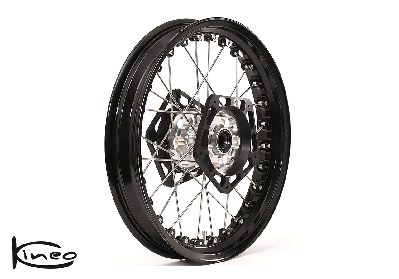 Front Kineo Wire Spoked Wheel 3 50 X 17 0 Ducati Monster 696 08 14