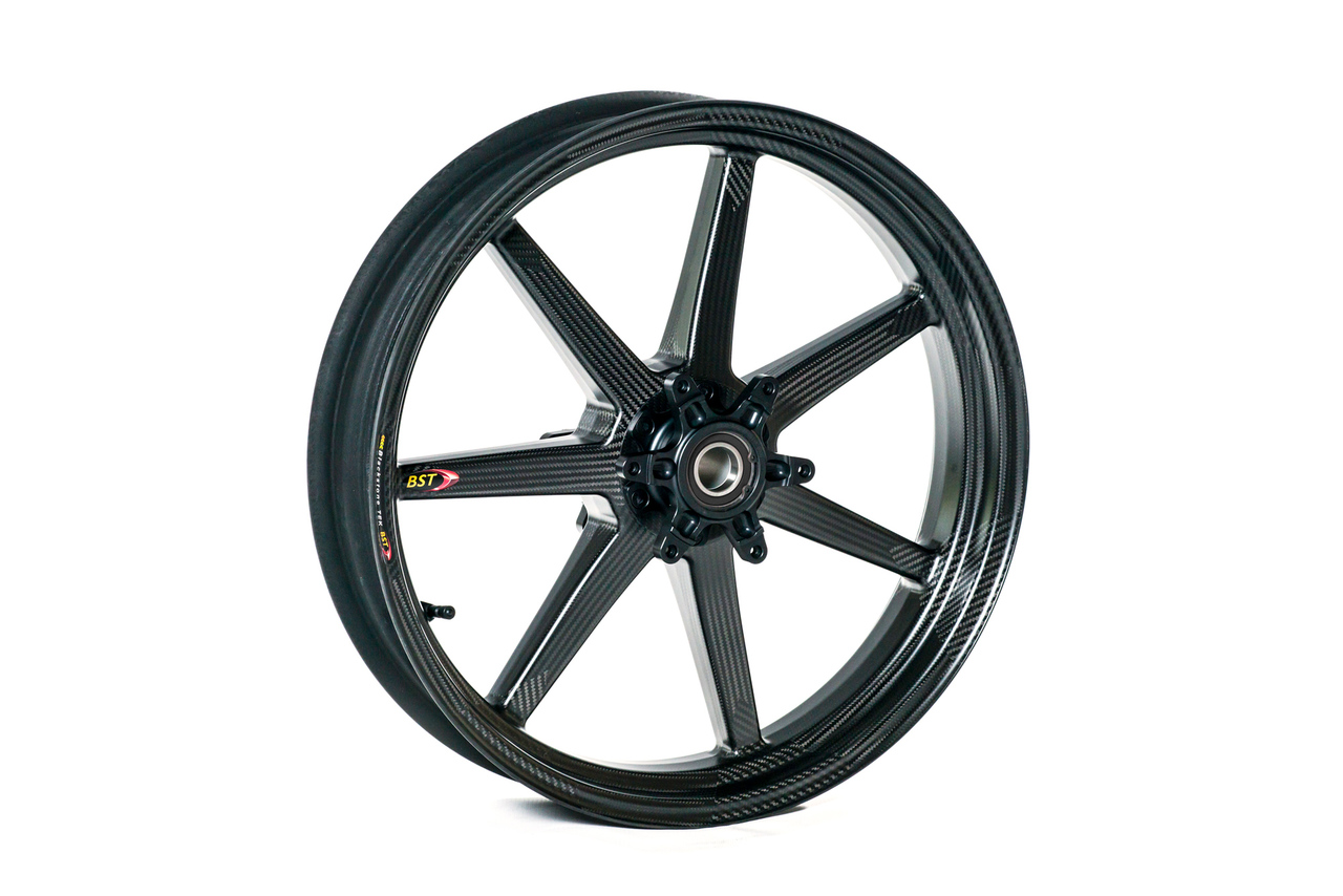 bst black mamba i series front wheel 7 spoke 3 5 x 17 for kawasaki