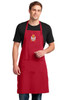 Serbian Grb Crest Embroidered Apron