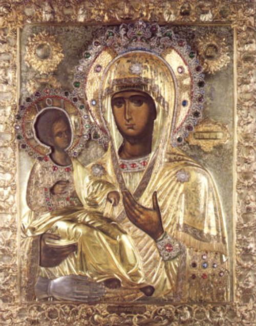 Theotokos of the Three Hands Icon