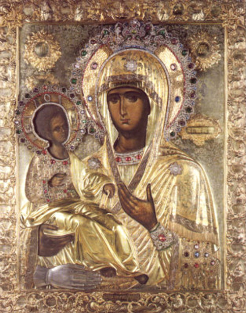 Theotokos of the Three Hands Icon