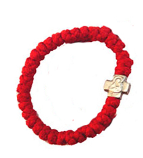 33 Knot Prayer Rope (Ruby Red)