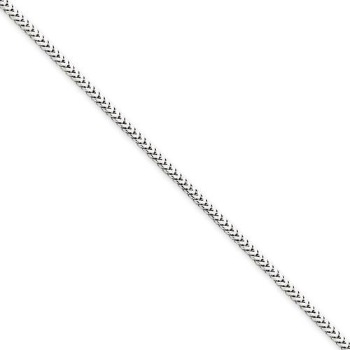 14KWG 1.5mm Franco Chain- Various Lengths