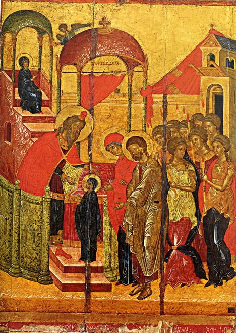 Presentation of the Theotokos Icon