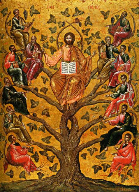Christ the Tree of Life Icon