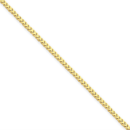 14KT 1.5mm Franco Necklace- Various Lengths