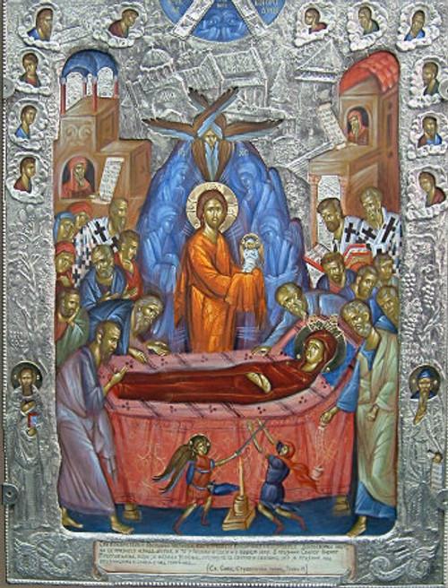 Dormition of the Theotokos Icon- Icon II