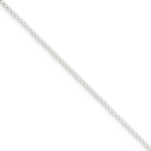 Sterling Silver 1.50mm Round Spiga Chain- Various Lengths