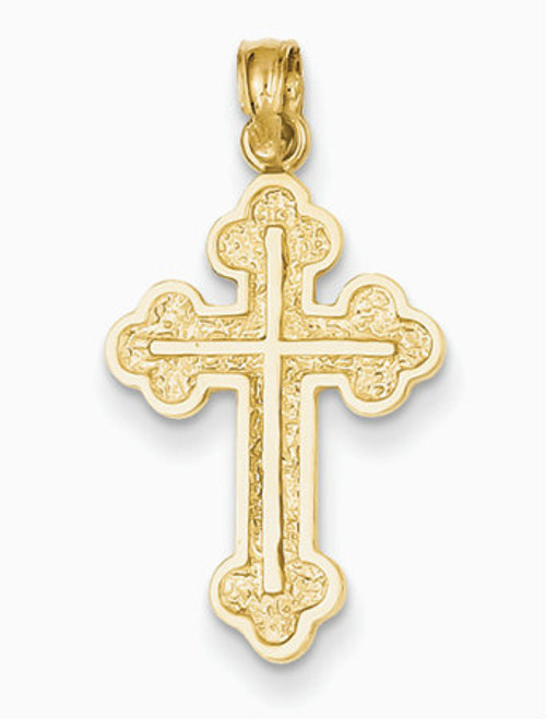 """14KT Serbian Style Cross- 1""""- FREE 2 DAY SHIPPING!*"""