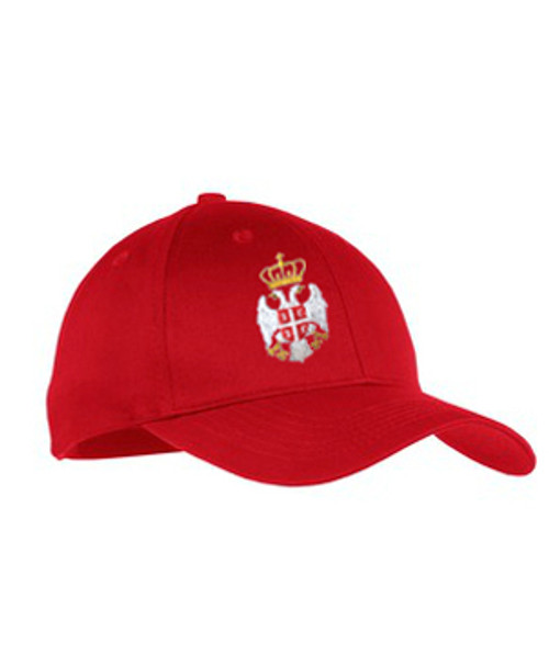 Red Serbian Cap- Youth Size