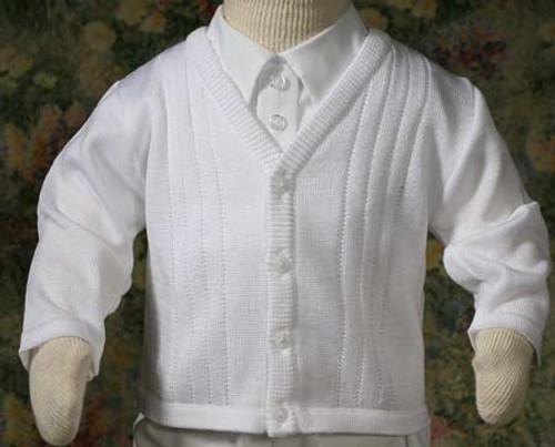 Boys Extra Fine Acrylic Sweater (Toddler Sizes)