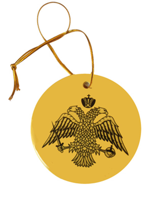 Byzantine Eagle Ceramic Ornament
