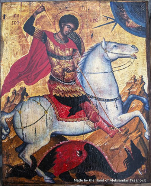 *Handpainted Icon: St. George