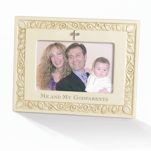 Me and My Godparents Ceramic Frame
