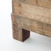 Reclaimed Wood, Angora Tioga King Platform Bed