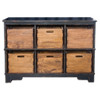 Ardusin Solid Wood storage cubbies with bins