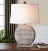 Albinus Ivory Ceramic Table Lamp
