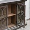 Belino 4 Door wooden sideboard cabinet sale with glass doors