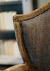 Lenny Weathered Oak French Bergere Dining Chairs