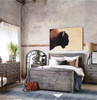 Caminito Grey Reclaimed Wood Chest of 7 Drawers, Bedroom