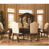 Bolero Extendable Marquetry Dining Table Zin Home