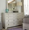 Malibu, California Rustic White Oak 8 Drawer Dresser