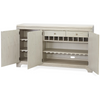 California Rustic Oak White credenzas