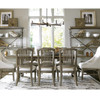 French Oak Extendable Farmhouse Dining Room Table