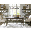 French Oak Extendable Farmhouse Dining Table