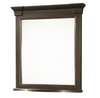 Country-Chic Maple Wood Bedroom Mirror