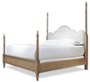 French Modern four poster bed queen size