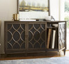 Playlist Vintage Oak 3 Door Buffet Cabinet