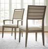 Playlist Vintage Oak Upholstered Dining Side Chair sale