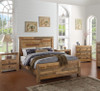 Angora Natural Reclaimed Wood California King Platform Bed