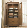 Louis Philippe New Lou 2 Door Tall Cabinet Armoire