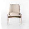Braden Mid-Century Modern Upholstered Dining Chair