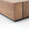 "Grady Reclaimed Peroba Wood Slab Coffee Table 70"""
